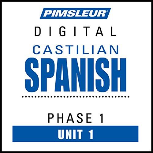 Castilian Spanish Phase 1, Unit 01 cover art