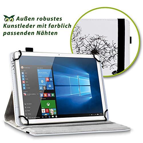 NAUC Tablet Hülle kompatibel für Lenovo Tab 2 A10-70 Tasche Schutztasche Cover Schutz Case 360° Drehbar Etui hochwertiges Kunst-Leder, Farben:Motiv 8