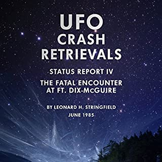 UFO Crash Retrievals - Status Report IV audiobook cover art