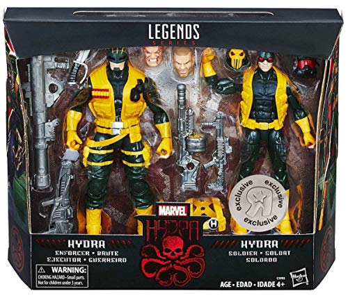 Marvel Legends Hydra Soldier and Hydra Enforcer Toys R Us Exclusive Action Figure 2-Pack