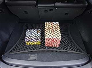 ZYCHUANGYING Cargo Nets Double Layer Highly Elastic Floor Style Car Trunk Nets Storage Organizer Nets for Audi A8L