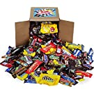 Chocolate Variety Pack - Chocolate Candy Bulk - All Your Favorite Chocolate Bars Including M&M, Snickers, Twix and More, 3.2 LB