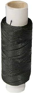 sattlergarn schwarz B2Q Sattlergarn Zwirn 14x2x3 Polyester 50m schwarz Durchmesser 0,3mm 1001