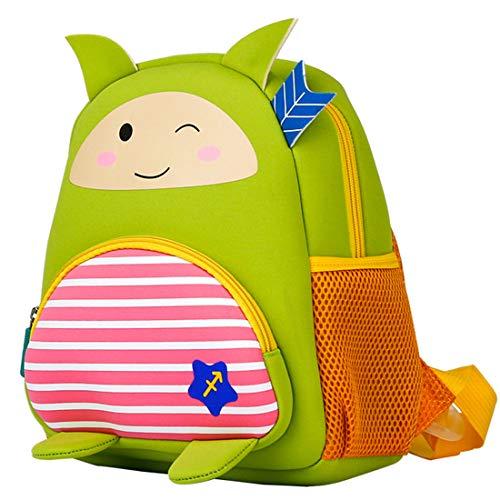 GWELL Tierkreiszeichen Babyrucksack Kindergartenrucksack Kindergartentasche Backpack Schultasche aus Neoprene für Kinder Mädchen Jungen Schütze