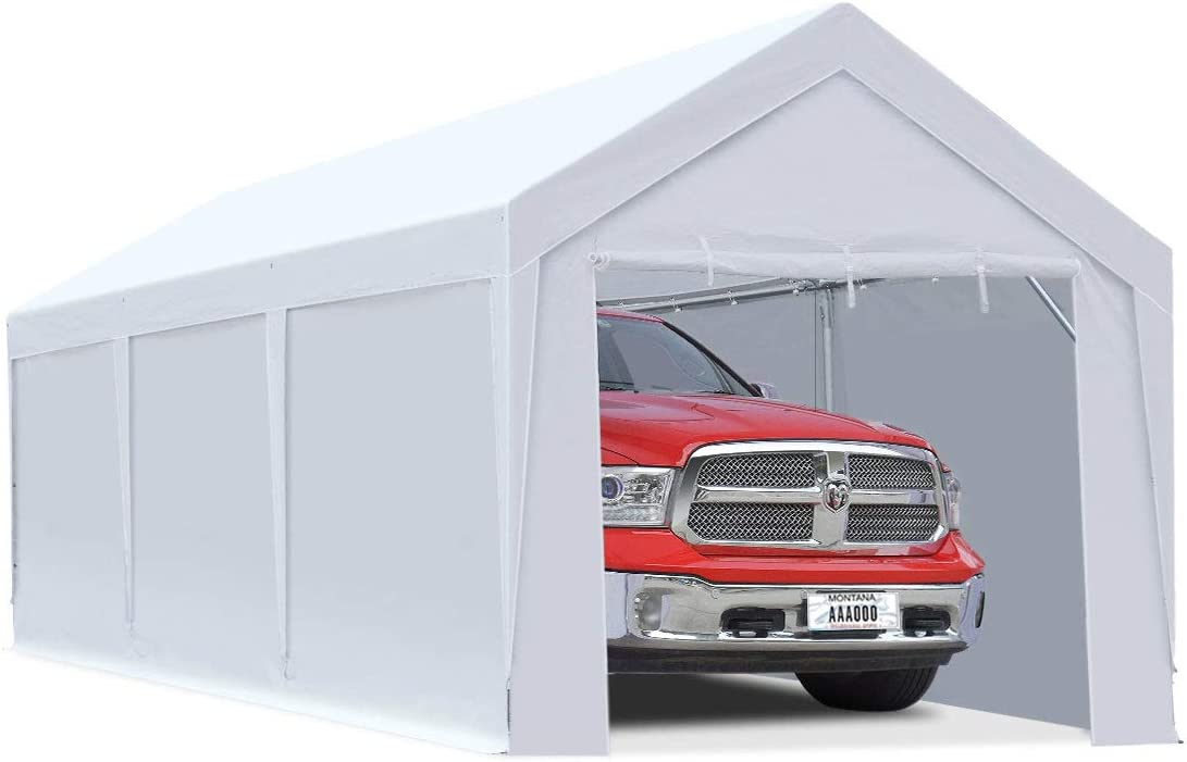 10 x 20 ft Upgraded Heavy Carport Car Duty Canopy Removable with All items in Colorado Springs Mall the store