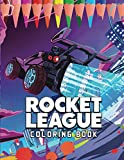 Rocket League Coloring Book: Amazing book to color for stress-relieving with HIGH QUALITY IMAGES
