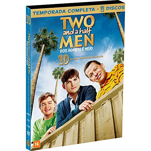 Two And A Half Men 10A Temp [DVD]
