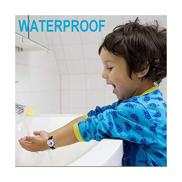 Tesoky Unique Design 3D Cute Cartoon Kids Waterproof Watch -Best Gifts