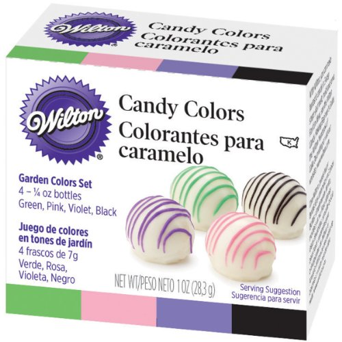 Wilton Garden Candy Color Set (Set of 4- 1/4 oz bottles)