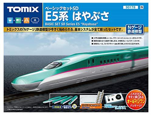 TOMIX Nゲージ ベーシックセットSD E5系はやぶさ 90178 鉄道模型入門セット