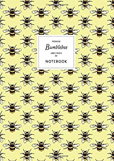 Bumblebee Notebook - Lined Pages - A4 - Premium: (Yellow Edition) Fun notebook 192 lined pages (A4 / 8.27x11.69 inches / 2...