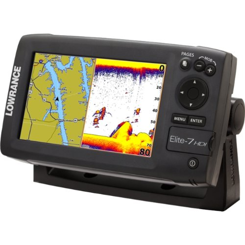 Elite 7 Fishfinder and GPS Combo Base