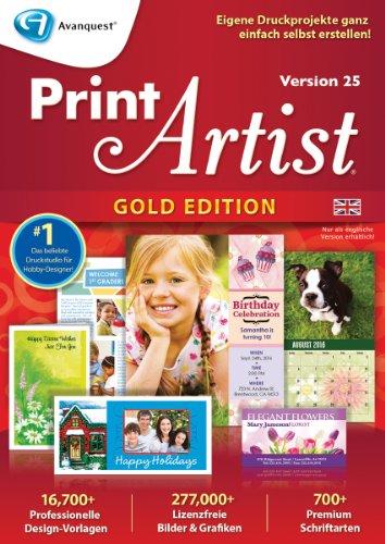 Print Artist Gold 25 (Englisch) [Download]