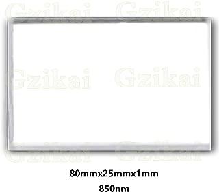Gzikai 80mm×25mm×1.0mm 850nm Optical IR Narrow Band Pass Filter