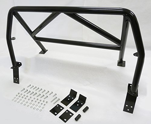 Racing Roll bar Sports 4-Point Roll Bar Black 90-97 Mazda Miata MX-5 Hard Core by OBX