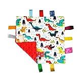Copertina per bebè Soft Touch Consolatore Con Tag - Tag Consolatore/Comfort Sicurezza Blanket grande regalo per gli Bebè Bambino Bambini