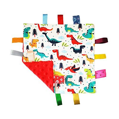 Baby Soft Touch Tröster Decke mit Umbauten - Tag Tröster/Komfort Sicherheit Blanket-großes Geschenk für Kleinkind Kind Kinder