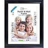 Mainstays poster frame fits 22' x 28' posters or 18' x 24' matted posters