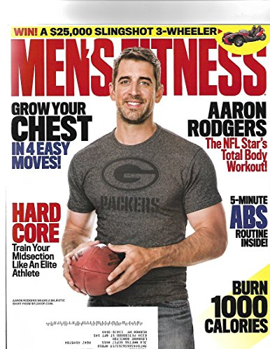 Men's Fitness magazine September 2017 { Aaron Rogers Cover}