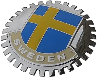 Sweden car Grille Badge Emblem