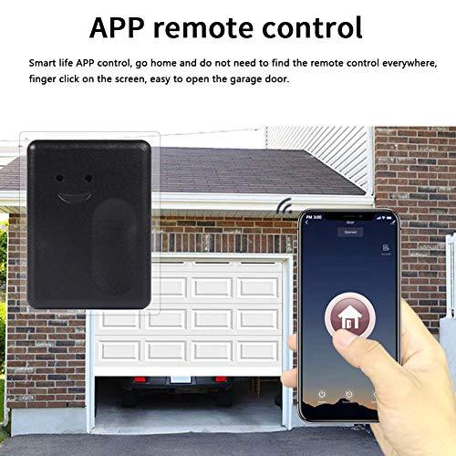 Garagentoröffner Universal, WiFi Smart Switch Garagentor Timing-Funktion, Smart Garagentor Controller Mit Amazon Alexa Und Für Google Home Für Sprachsteuerung