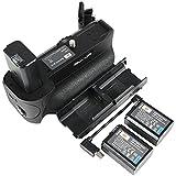 DSTE® VG-A6500 Vertical empuñadura de batería para Sony A6500 Cámara + 2pcs NP-FW50 batería