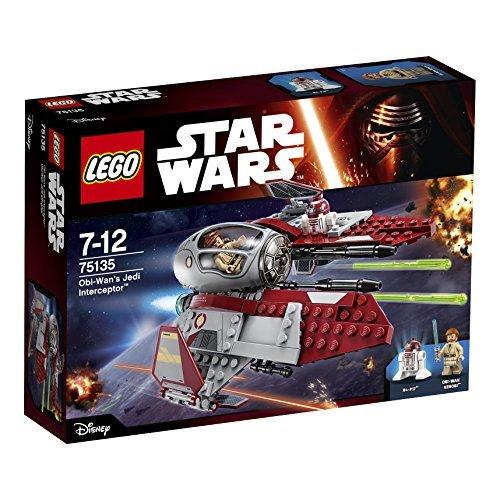 LEGO Star Wars obiwan Jedi Abfangjäger 75135