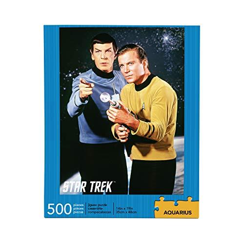 STAR TREK Kirk & Spock 500 Piece Jigsaw Puzzle