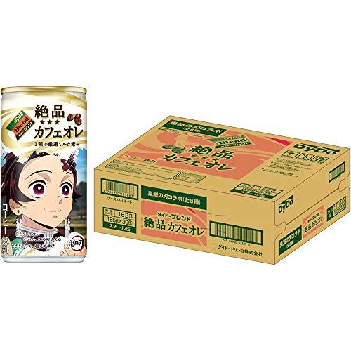 (鬼滅の刃コラボ)ダイドーブレンド 絶品カフェオレ 185g ×30本