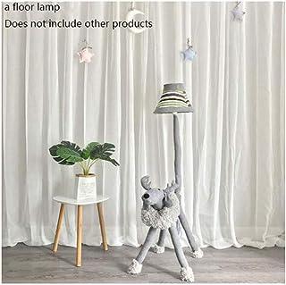 Lampe sur Pied Lampadaires Lampadaires animaux Cartoon Deer Noël Chambre Mouton Lion Tissu permanent Luminaires Home Décor...