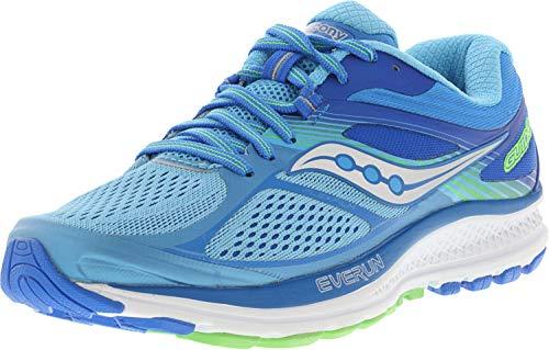 Saucony Women's Guide 10 Running Shoe, Light Blue | Blue, 6 M