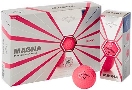 Callaway 2019 Supersoft Golfbälle, Unisex, Golfbälle, 642675612, rosa, matt, One Dozen
