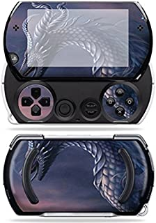 MightySkins Skin Compatible with Sony PSP Go System wrap Sticker Skins Dragon Fantasy