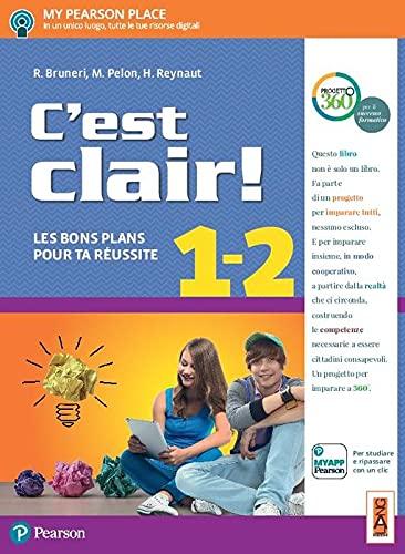 C'est clair! Les bons plans pour ta réussite. Per la Scuola media. Con e-book. Con espansione online [Lingua francese]: Vol. 1-2