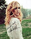 Kate Hudson actress REAL hand SIGNED 8x10' photo COA Autographed