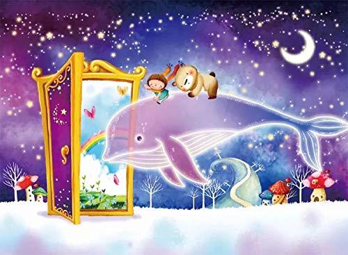 Slbtr - 1000 Piezas Puzzle - Libro De Magia Y Pez Gordo - Rompecabezas Para Niños Adultos Juego Creativo Rompecabezas Navidad Decoración Del Hogar Regalo