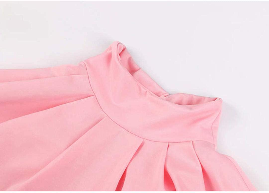 Womens Party Cocktail Mini Skirt Lady Summer Ruffle Pleated Skater Flared Skirt
