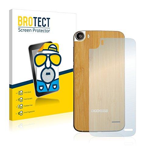 BROTECT 2X Entspiegelungs-Schutzfolie kompatibel mit Doogee F3 Pro (Rückseite) Bildschirmschutz-Folie Matt, Anti-Reflex, Anti-Fingerprint