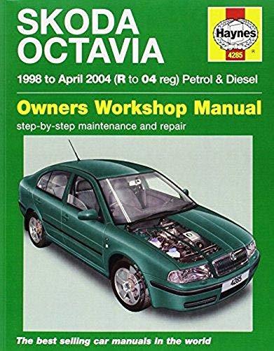 Skoda Octavia Petrol & Diesel (98 - Apr 04) Haynes Repair Ma