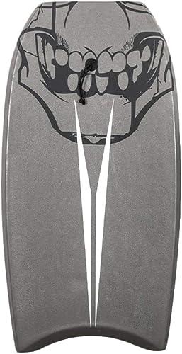 Body Board Bodyboard luisant de Conseil de 41 Pouces à l'intérieur, Noyau d'EPS, Fond de HDPE, Mini Planche de Surf d'enfants avec la Laisse pour la Plage, Le Surf et Les Sports Nautiques