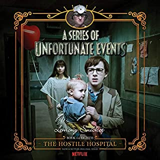 The Hostile Hospital     A Series of Unfortunate Events #8              Auteur(s):                                                                                                                                 Lemony Snicket                               Narrateur(s):                                                                                                                                 Tim Curry                      Durée: 4 h et 12 min     5 évaluations     Au global 5,0