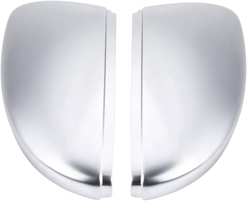 好評 Pair of Rearview Mirror Shells Matte セール特価 Rea Car Chrome Shell
