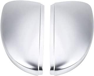 Rearview Mirror Shells, Matte Chrome Rearview Mirror Cover Cap for VW Passat B7 CC Jetta Scirocco Beetle