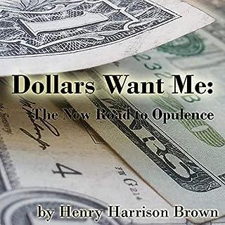 Dollars Want Me audiobook cover art