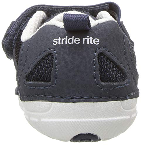 Stride Rite Baby Girls Soft Motion Jamie Sneaker Athletic, Purple, 3.5 X-Wide Infant