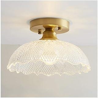 ضوء السقف الحديثة مصابيح السقف النحاس البسيطة، E27 111V ~ 240V، غرفة نوم Cloakroom ممر شرفة ديكور المنزل الإضاءة [ فئة الط...