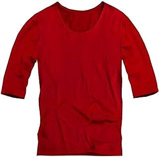[スワンユニオン] swanunion ゆる Uネック 五分袖 Tシャツ メンズ 無地 ロンT カットソー トップス メンズファ