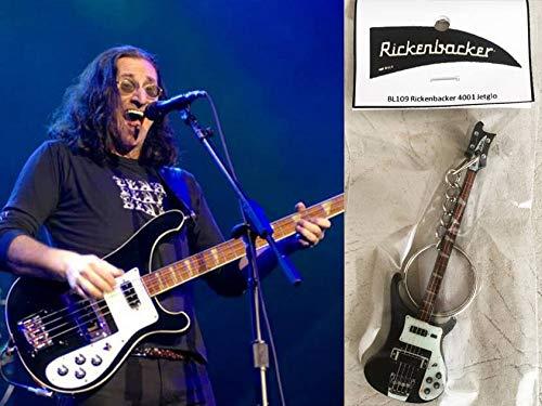 Schlüsselanhänger Gitarre Bass Rickenbacker 4001 Jetglo