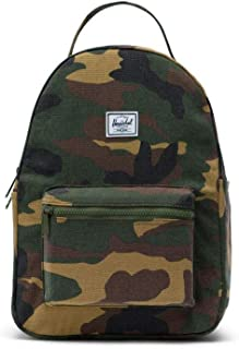 Herschel Nova Small Unisex Small Woodland Camo Cotton Canvas Casual Backpack 10502-01568-OS