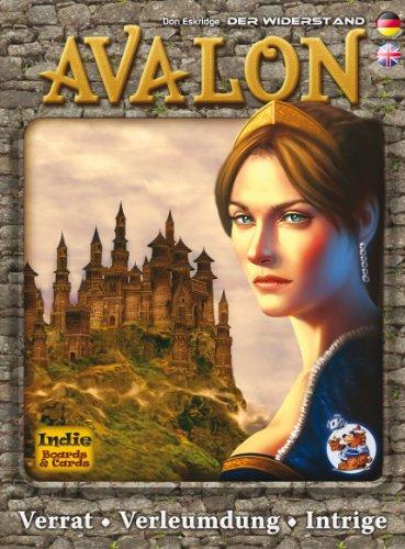 Asmodee HE579 - Avalon Geschicklichkeitsspiel